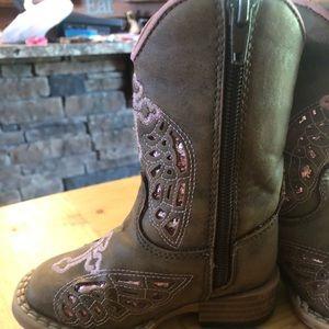 Blazin Roxx Shoes - Blazin Roxx Zip up Boots